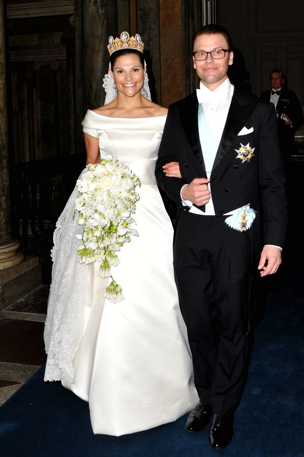Meghan markle take note gorgeous royal wedding dresses from crown princess victoria of sweden 2010 junglespirit Gallery