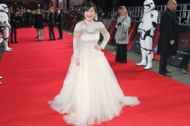 Kelly Marie Tran at the 'Star Wars: The Last Jedi'