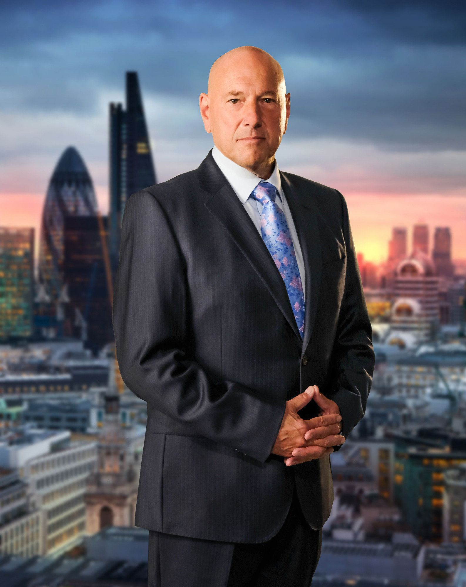 Claude Littner is Lord Sugar's right-hand man on 'The