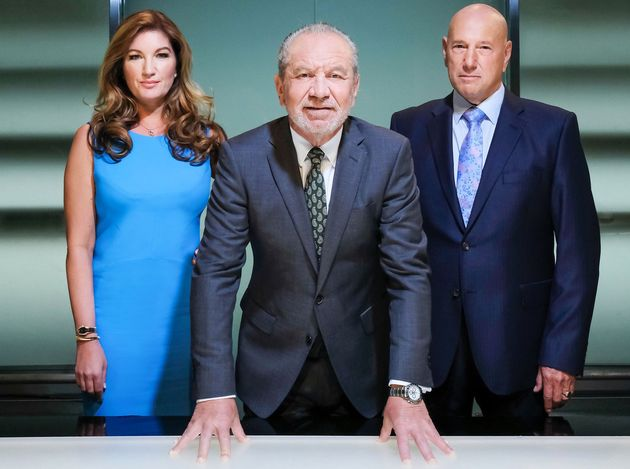 Claude with Lord Sugar and Karren
