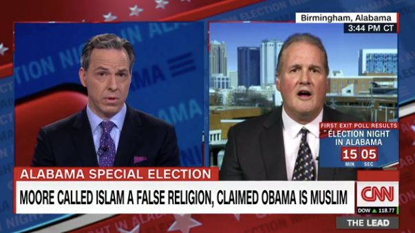 Tapper Reminds Ignorant Moore Spox: Swearing On Bible Isn't Compulsory