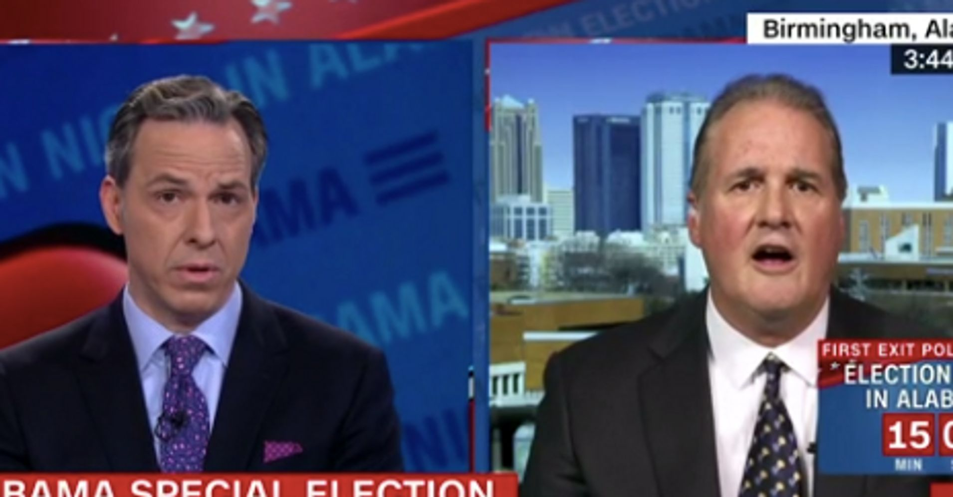 Roy Moore Spokesman Goes Blank After Jake Tapper Schools Him On The Constitution