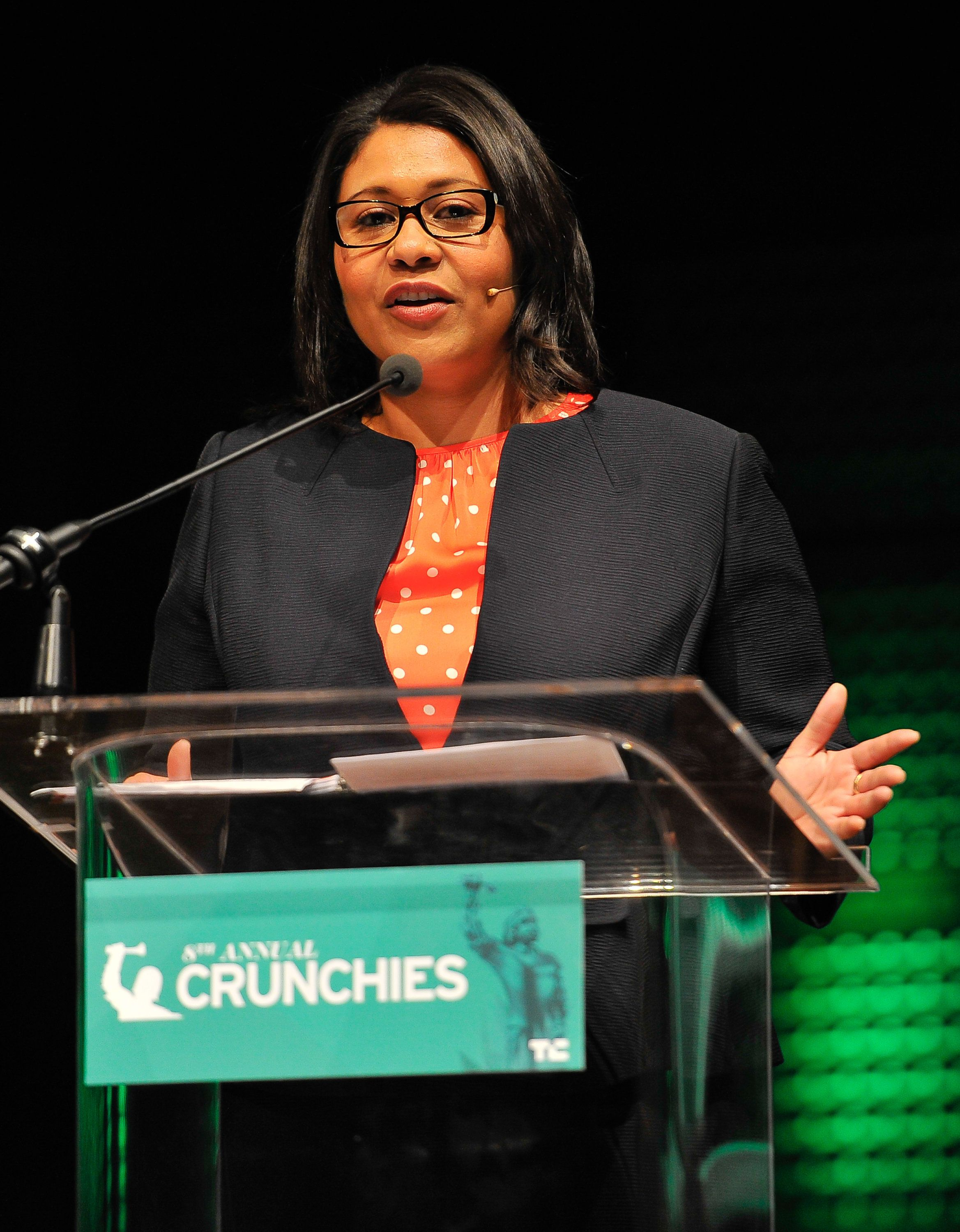SAN FRANCISCO, CA - FEBRUARY 05: London Breed, President of the San Francisco Board of Supervisors attends the TechCrunch 8th Annual Crunchies Awards at the Davies Symphony Hall on February 5, 2015 in San Francisco, California. (Photo by Steve Jennings/Getty Images for TechCrunch)