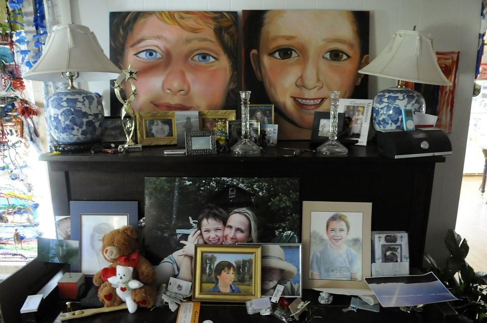Lewis still lives in her farmhouse in Sandy Hook with Jesse's older brother, J.T., who is now 17 years old.