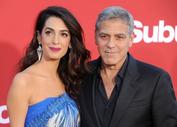 Amal and George Clooney welcomed twins Alexander and Ella in June.