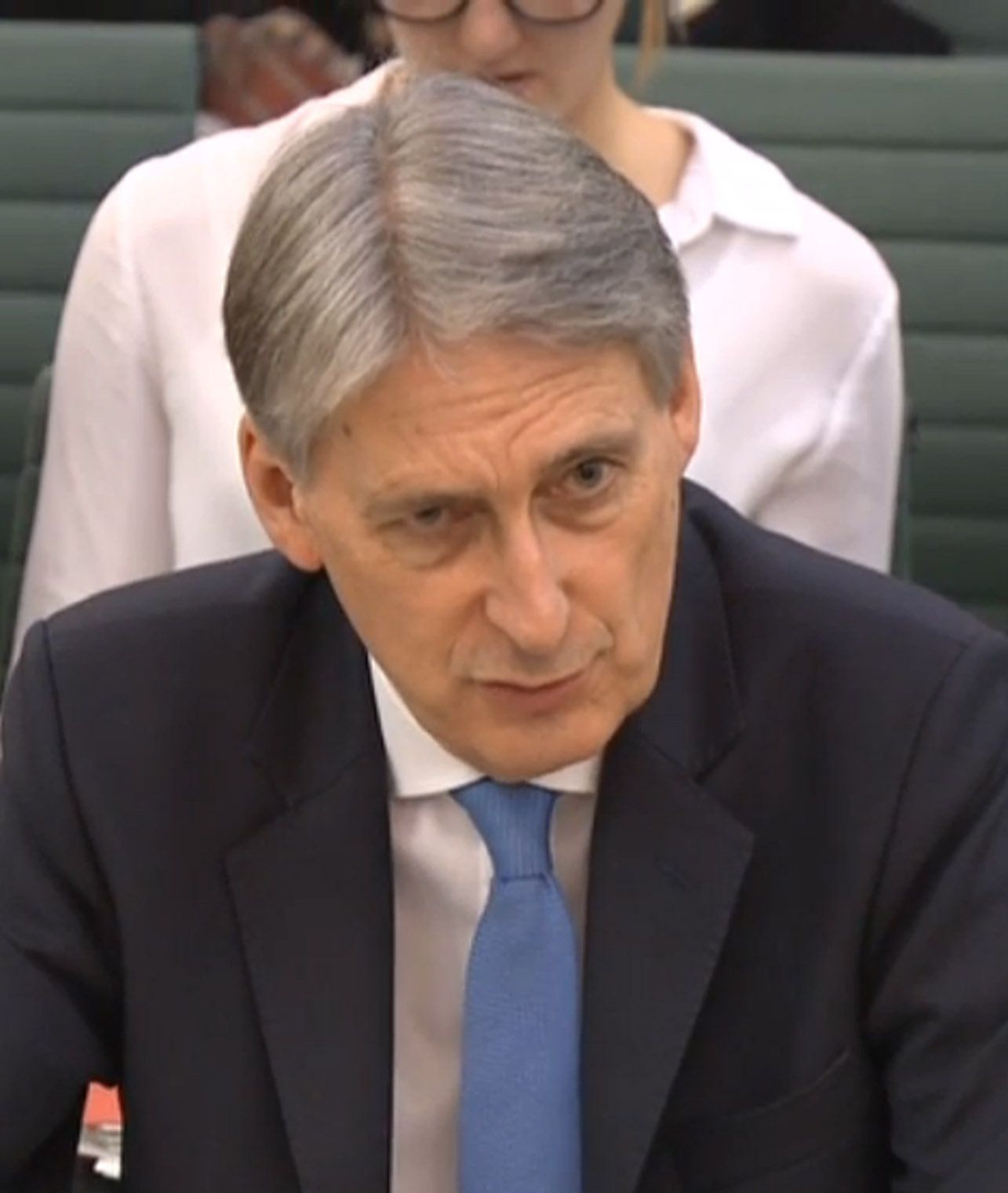 PMQs: Theresa May Denies Philip Hammond Claimed Disabled Workers Were Lowering