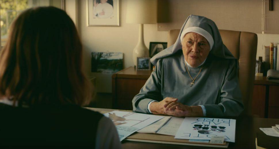 "Lois Smith in ""Lady Bird."""