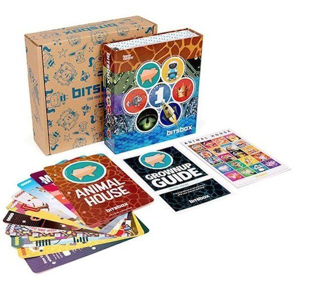 Bitsbox encourages kids to code.