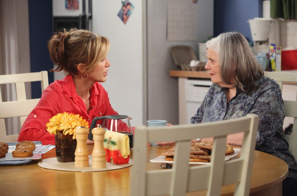 """Felicity Huffman and Lois Smith in an episode of """"Desperate Housewives."""""""