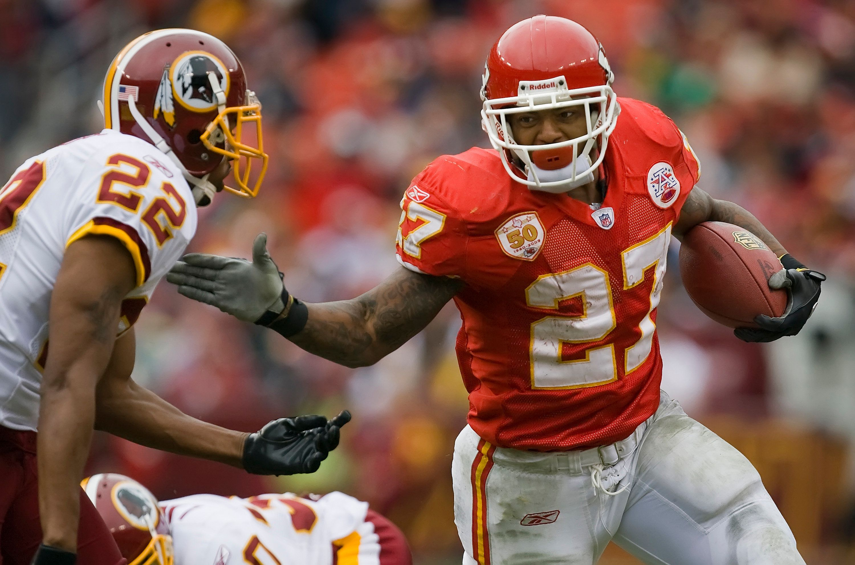 Former NFL RB Larry Johnson Believes He Has CTE
