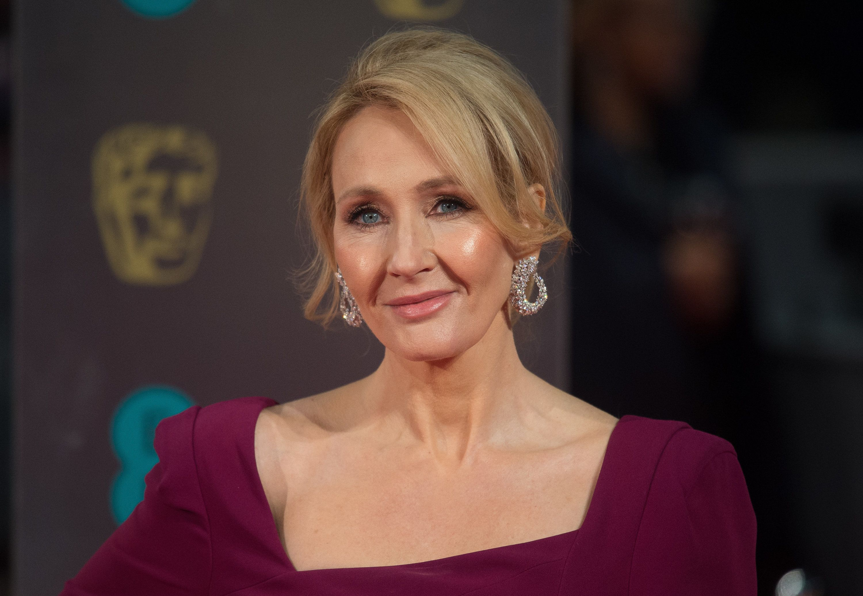 LONDON, ENGLAND - FEBRUARY 12:  J.K. Rowling attends the 70th EE British Academy Film Awards (BAFTA) at Royal Albert Hall on February 12, 2017 in London, England.  (Photo by Samir Hussein/WireImage)