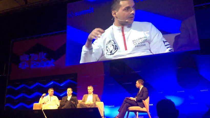WayRay's Vitaly Ponomarev, Quanergy's Louay Eldada, Renault-Nissan-Mitsubishi's Ogi Redzic & France 24's Stephen Carr