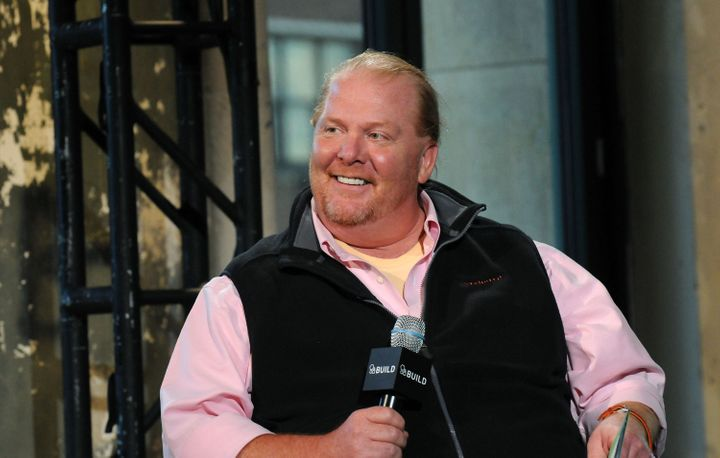 """Mario Batali was nicknamed """"the Red Menace"""" by Spotted Pig employees."""