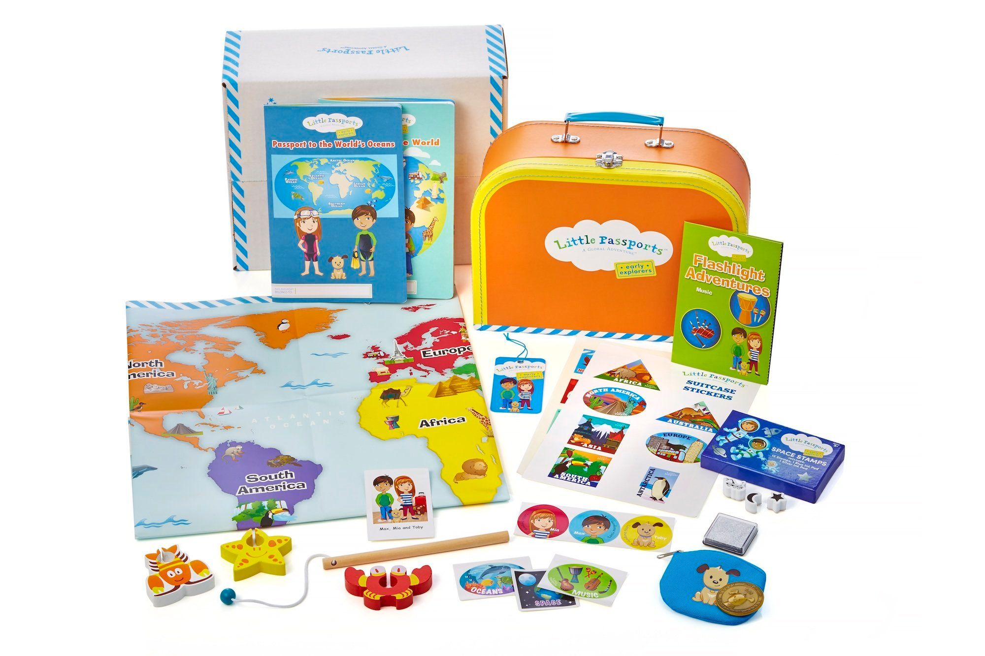 Little Passports teaches kids about the world and its cultures.