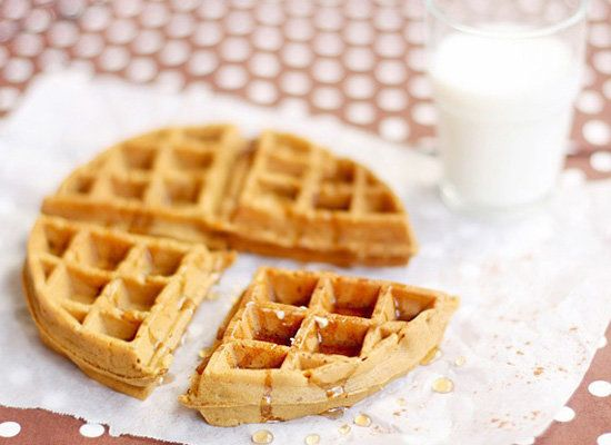 "<strong>Get the <a href=""http://bossacafez.blogspot.ca/2012/01/gingerbread-waffles.html"">Gingerbread Waffles recipe</a> from"