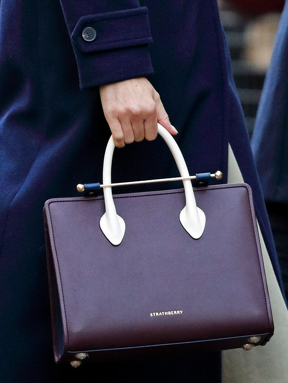 Meghan Markle's Strathberry Leather Bag Is Being Auctioned For