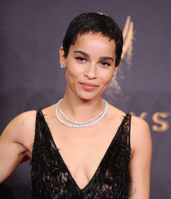 Zoe Kravitz proves you can't go wrong with winged eyeliner and a simple nude lip. Classy yet subtle, which is great for day o