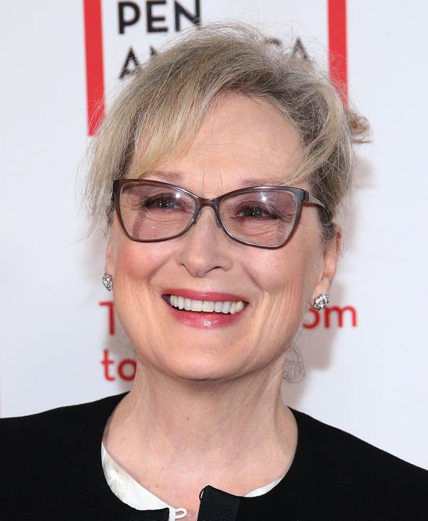 Sometimes, a semi-glossy lip tint is all you need to amp up your look. Just take a page out of Meryl Streep's playbook.