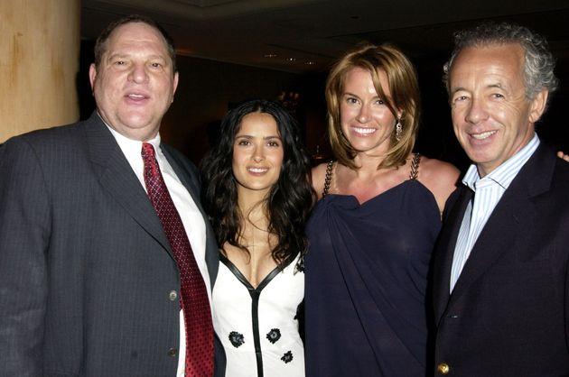 Salma Hayek Says Harvey Weinstein Threatened To 'Kill'