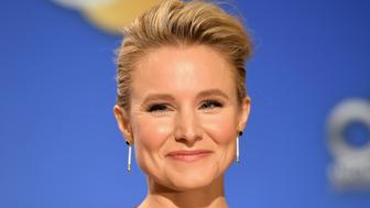 LOS ANGELES, CA - DECEMBER 11:  Kristen Bell attends the 75th Annual Golden Globe Nominations Announcement on December 11, 2017 in Los Angeles, California.  (Photo by Matt Winkelmeyer/Getty Images)