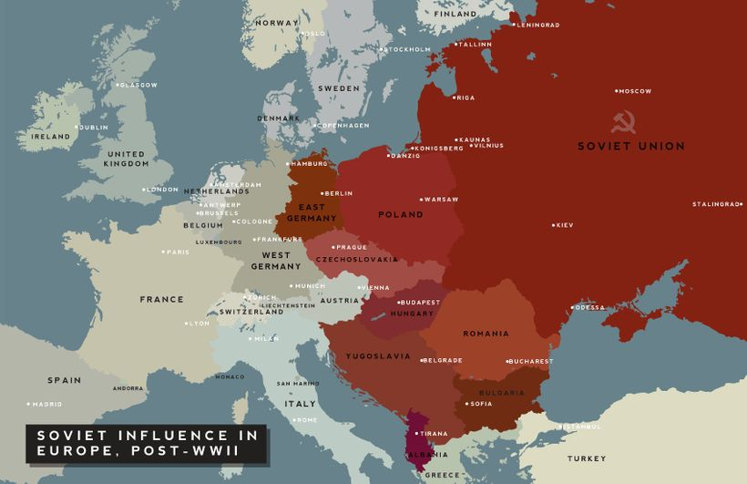 From Soviet Bloc to European Union; a goal and aspiration for much of Eastern Europe?
