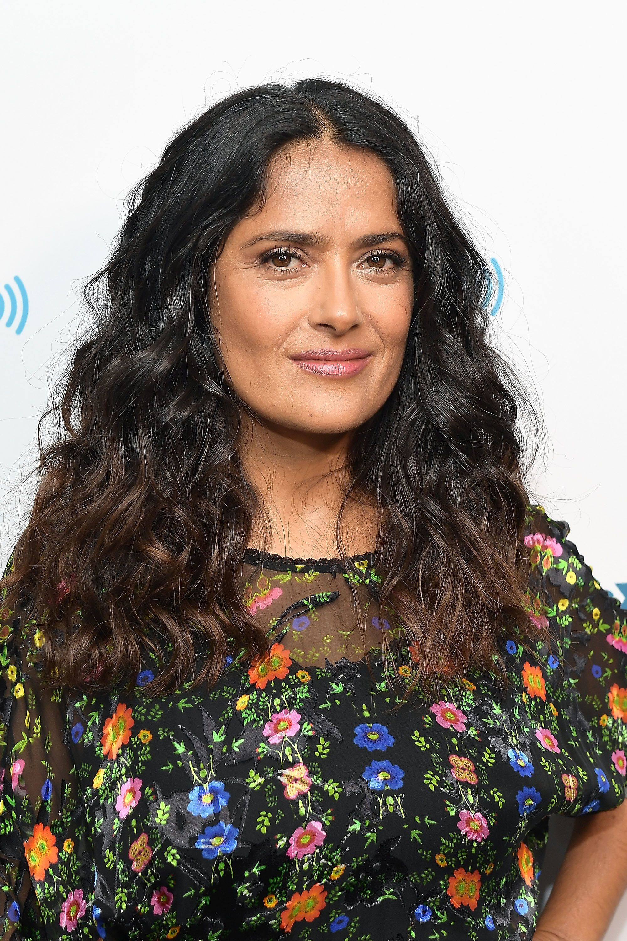 LOS ANGELES, CA - AUGUST 17:  Actress Salma Hayek visits the SiriusXM Studios on August 17, 2017 in Los Angeles, California.  (Photo by Matt Winkelmeyer/Getty Images)