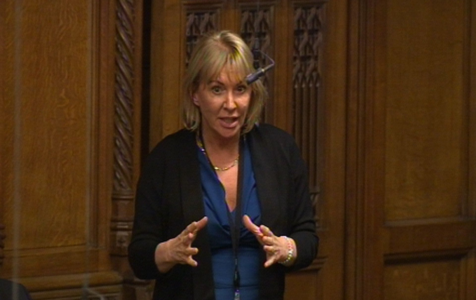 """<strong>Nadine Dorries: """"The Tory rebels have put a spring in Labour's step.""""</strong>"""