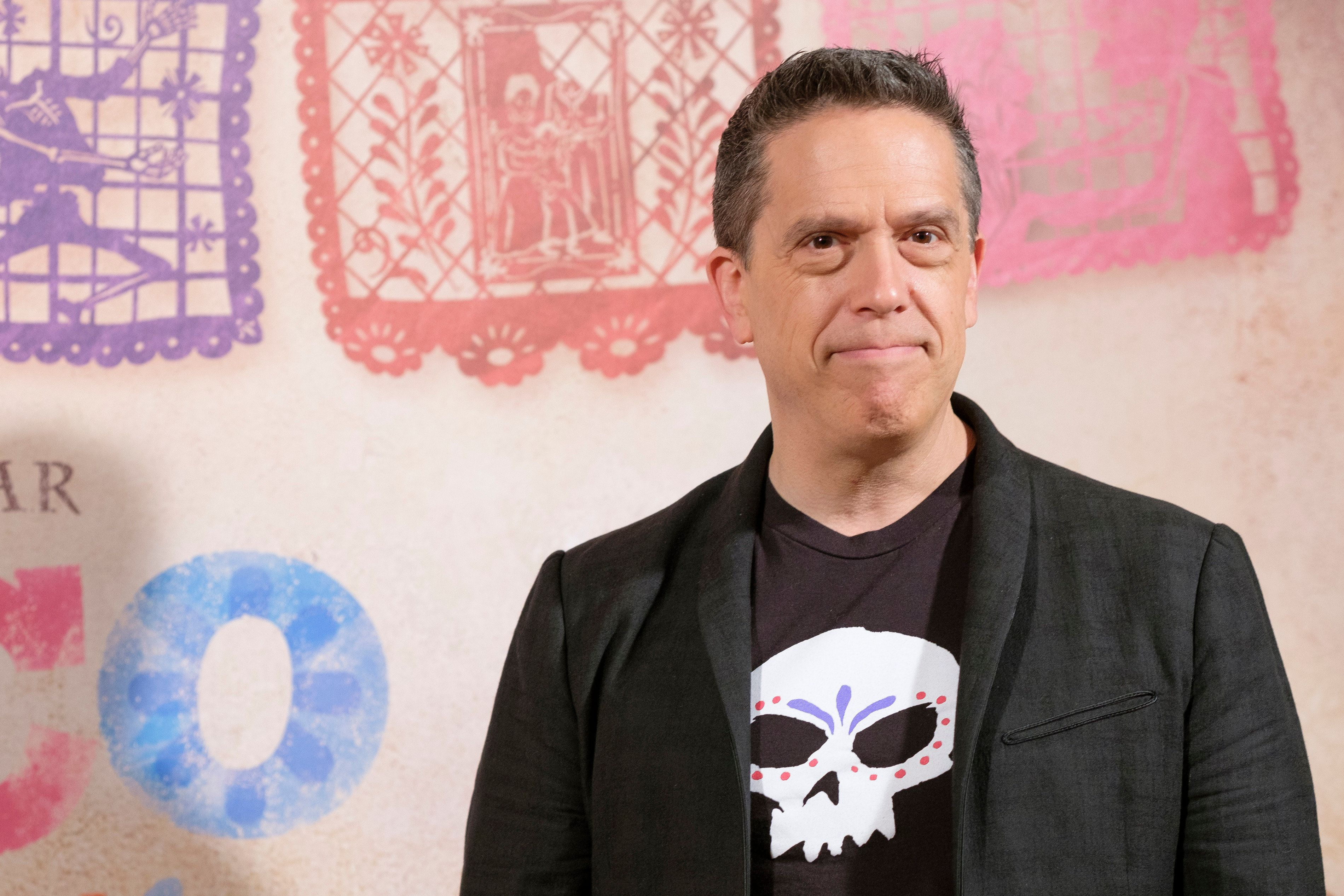 director Lee Unkrich attends the photocall of the Disney Pixar COCO movie in Madrid. Spain. November 21, 2017 (Photo by Oscar Gonzalez/NurPhoto via Getty Images)