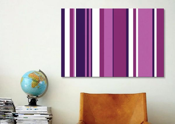 """Get the graphic art <a href=""""https://www.wayfair.com/decor-pillows/pdp/icanvas-ultra-vivid-violet-graphic-art-on-wrapped-canv"""