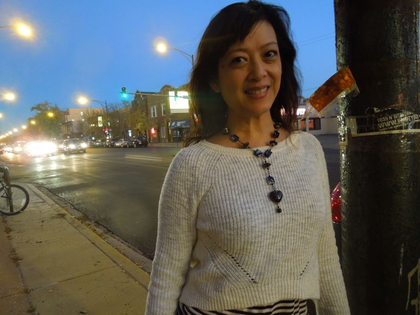 Poet, Looking Fabulous: Angela Narciso Torres on the Streets of Chicago, October 2014