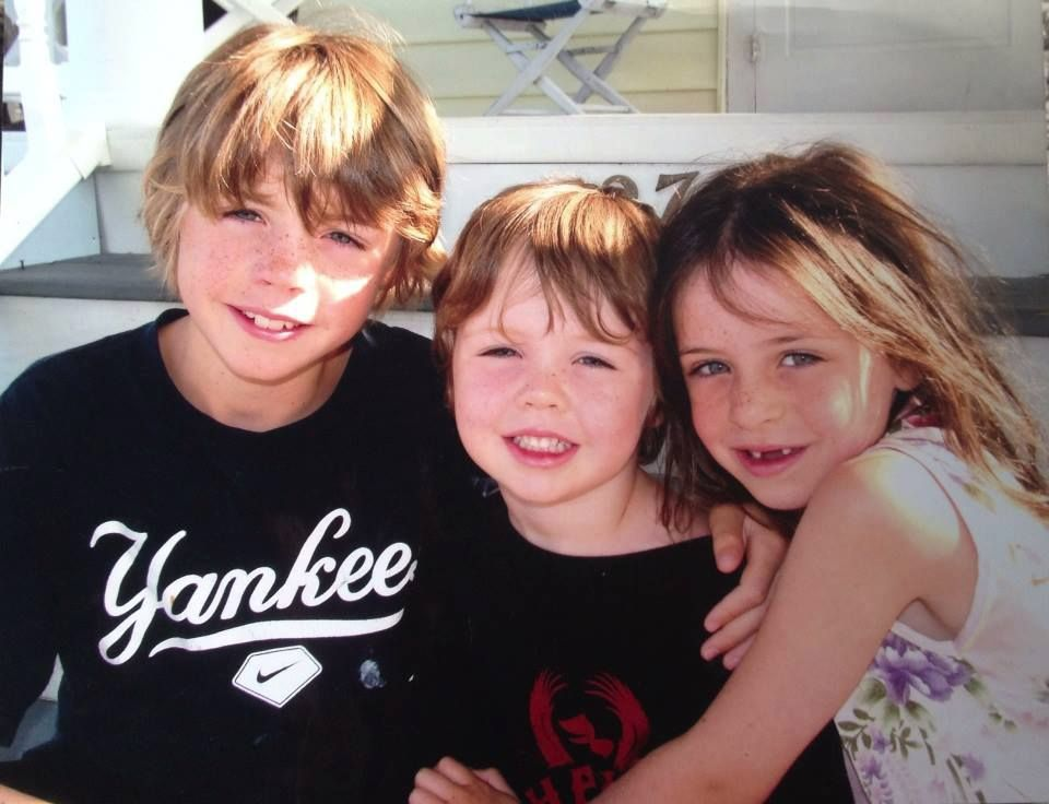Daniel Barden (middle) loved his bigbrother, James, and sister, Natalie.