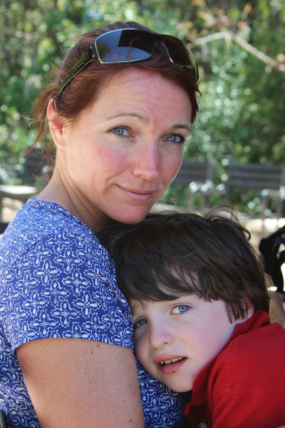 """""""I've had to find space to forgive myself because I couldn't save my son,"""" said Nicole Hockley."""