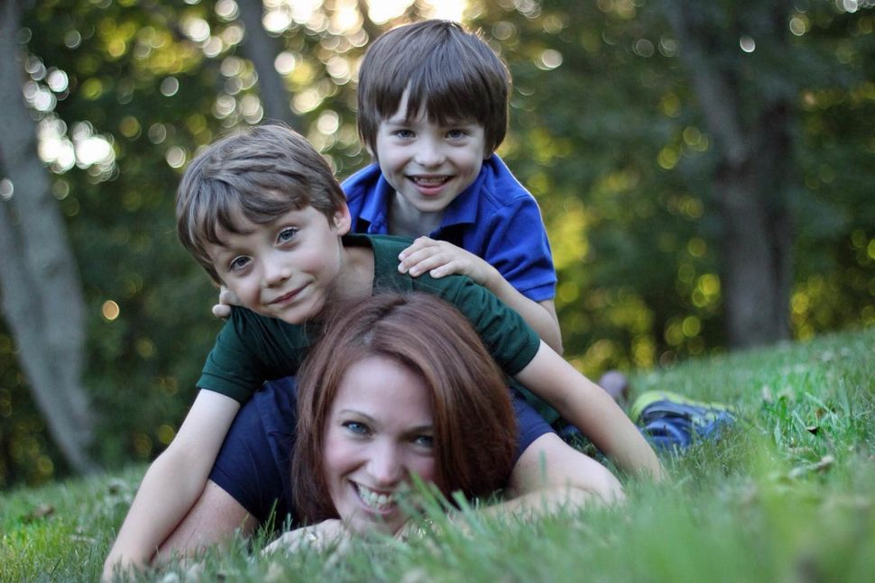 December 14 is a family day for Nicole Hockley and Mark Barden.
