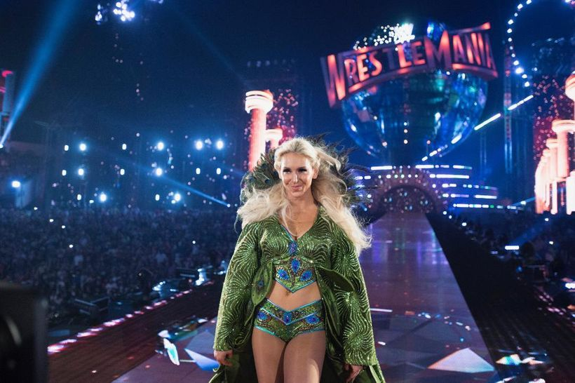 "Like her famous father, with whom she coauthored dual memoir  <em>Second Nature, </em>Charlotte Flair has ""styled and profile"