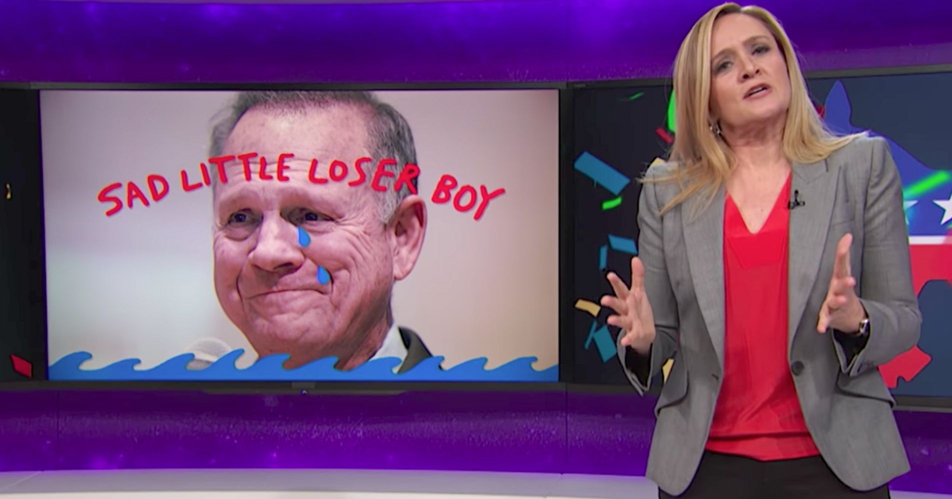 Samantha Bee Dedicates The 'Amazing' Defeat Of Roy Moore To His Accusers