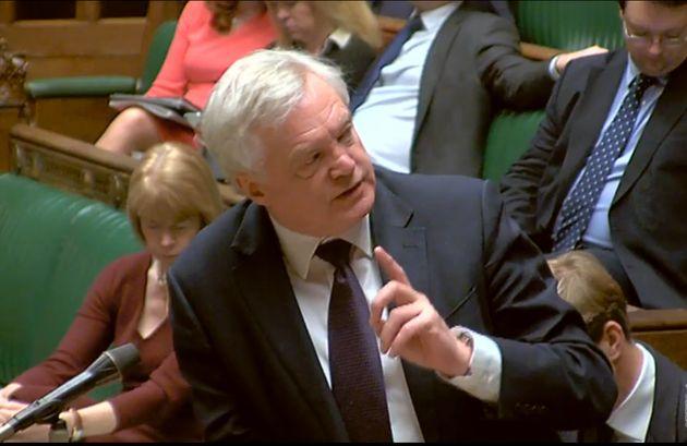 David Davis Told Off By John Bercow But Escapes Contempt Of Parliament Vote Over
