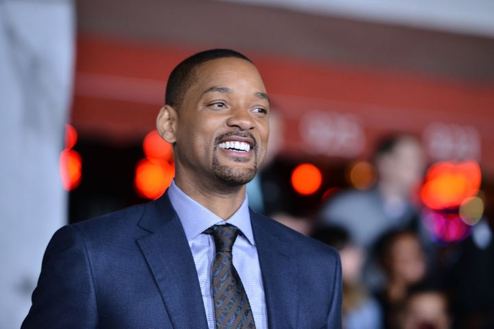 """Will Smith at the premiere of """"Bright."""""""