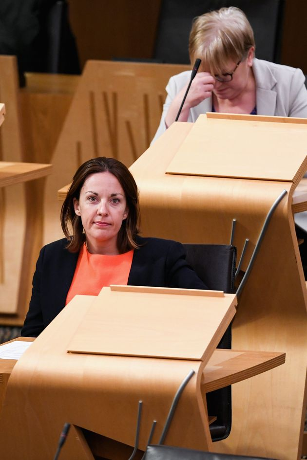 Kezia in the somewhat more formal setting of Scottish