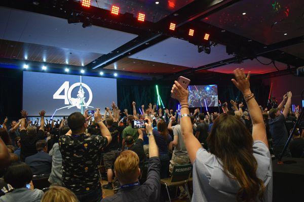 40 Years of <em>Star Wars</em> panel at Star Wars Celebration Orlando
