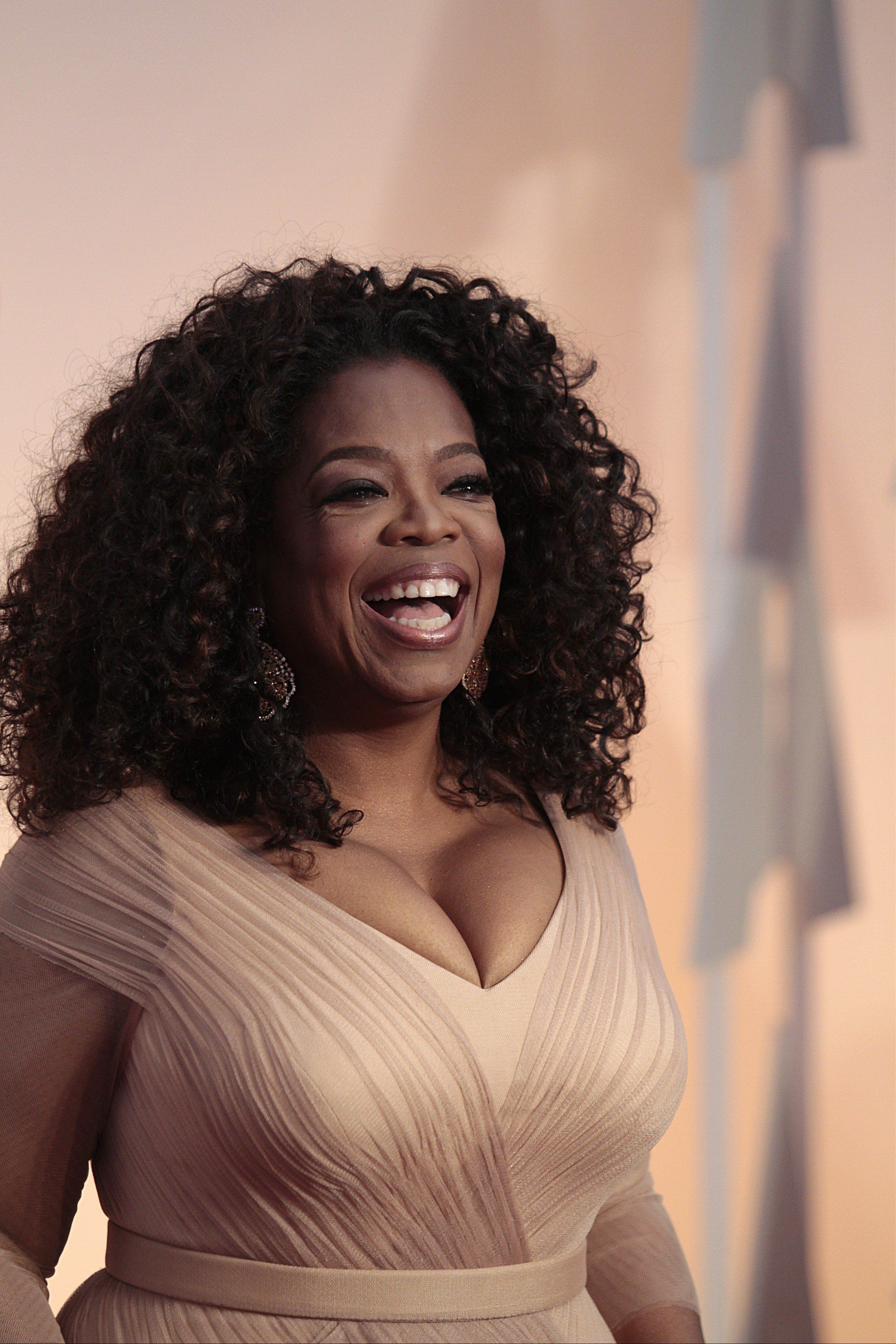 Oprah Winfrey arrives at the 87th Annual Academy Awards in Hollywood, California on February 22, 2015. Francis Specker /Landov