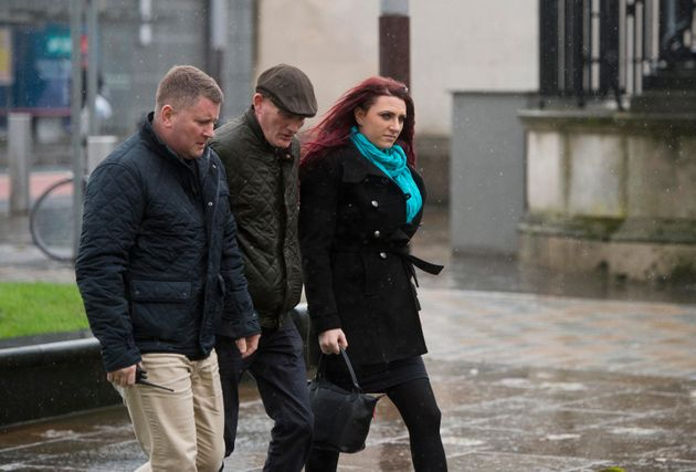 Senior figures in far-right group Britain First arrested at Belfast court