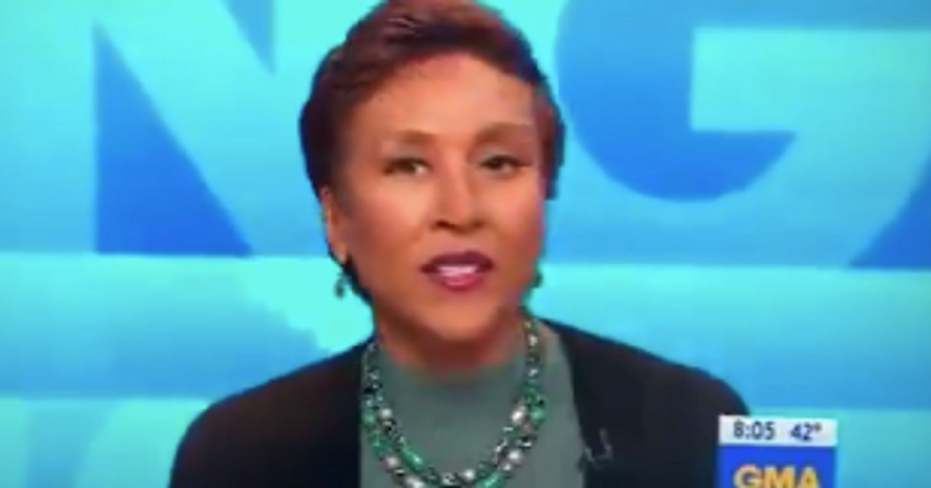 Robin Roberts Literally Says 'Bye Felicia' To Omarosa Manigault Newman