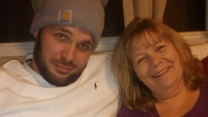 Heath Johnson, 30, poses with his mother. After multiple arrests for drug-related crimes, Johnson signed up for a LEAD progra