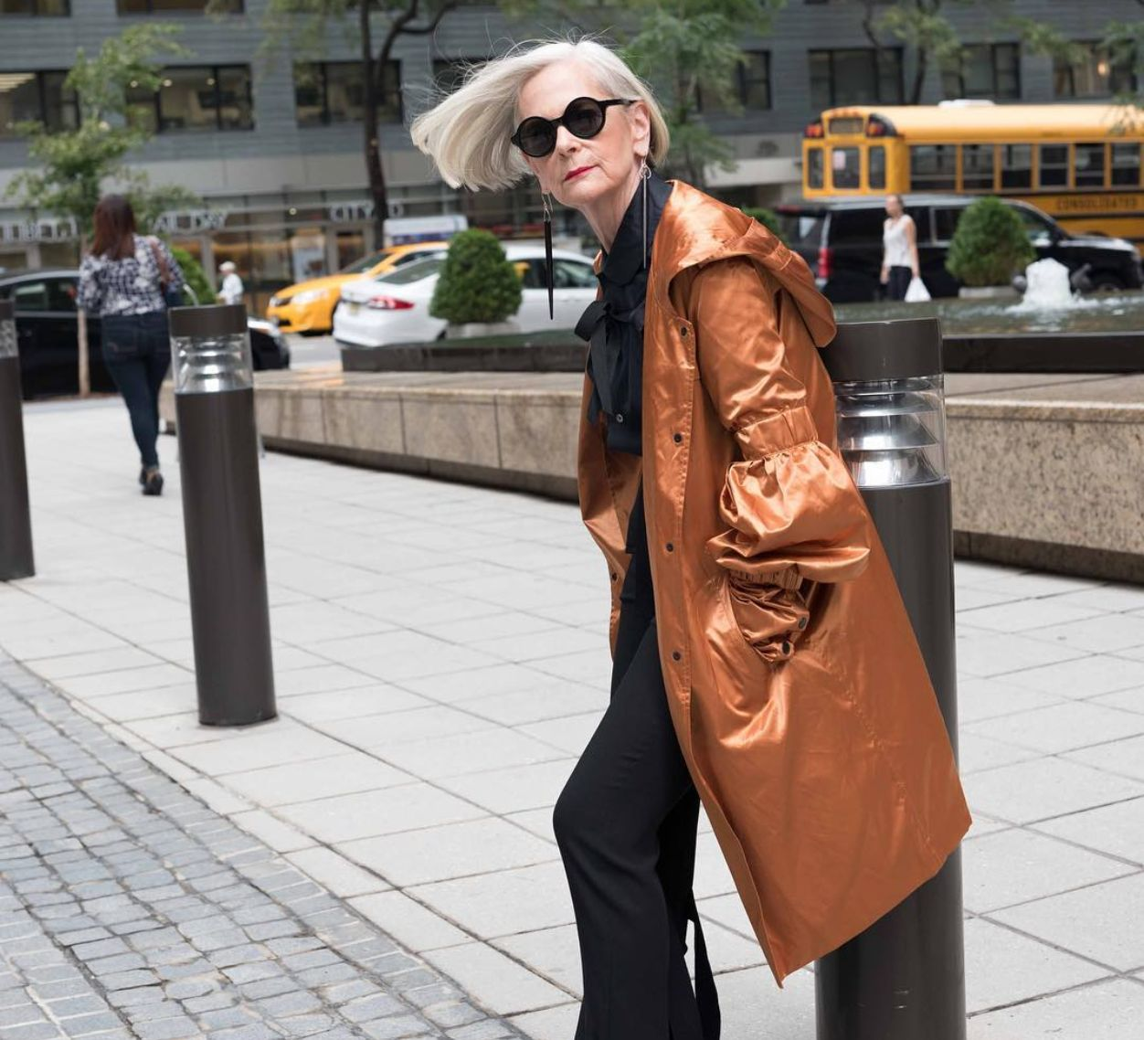 Accidental Icon: 64 Year-Old Fashion Blogger Dominates Instagram With Her Fierce