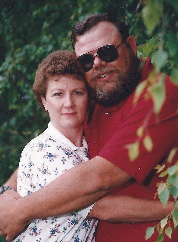 Jim and Cheryl Spencer on their 19th anniversary in 1995.