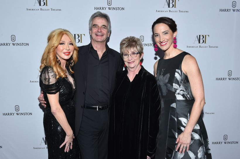 (L-R) Co-Chair Elizabeth Segerstrom, ABT Artistic Director Kevin McKenzie, honoree Judy Morr and ABT Executive Director Kara