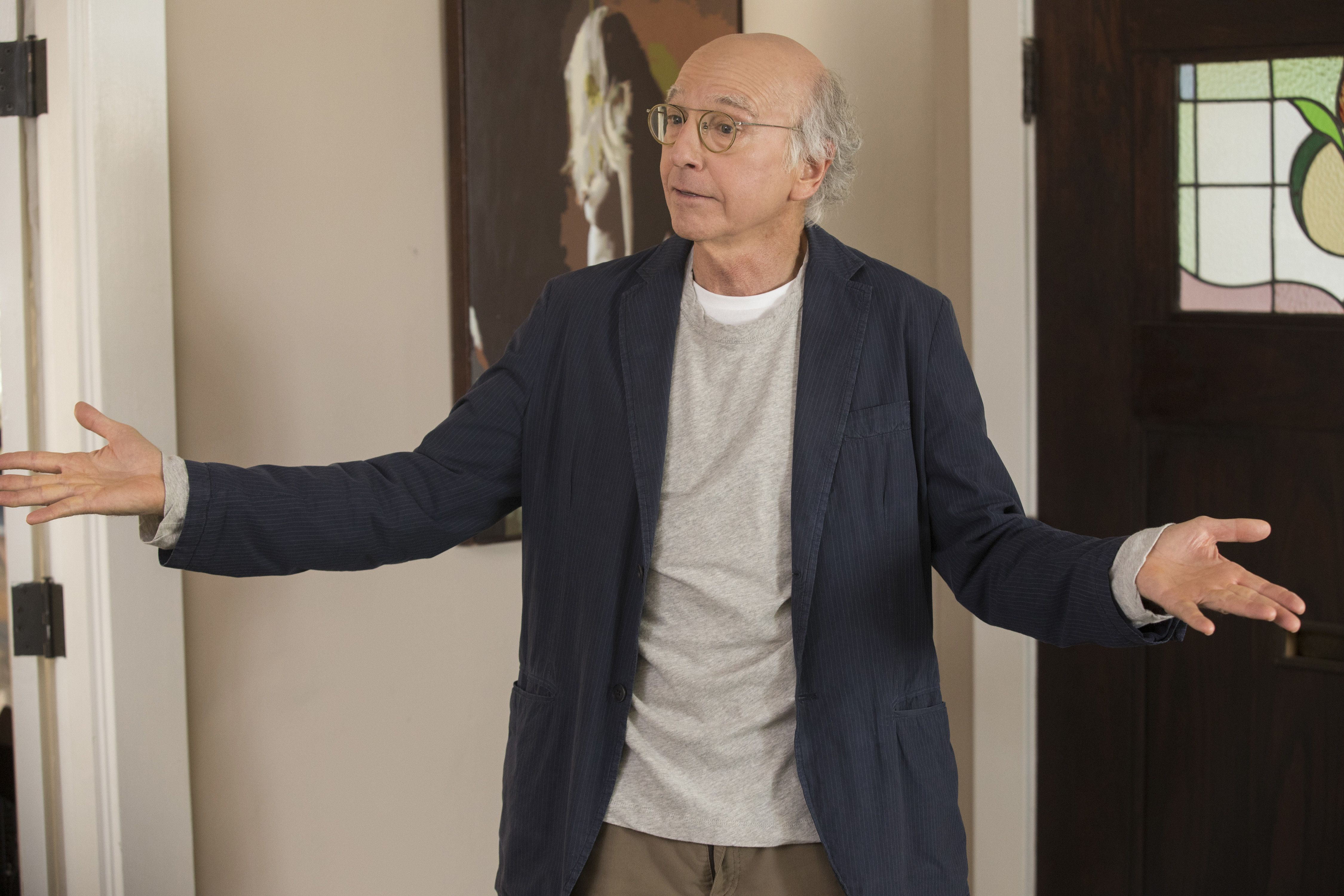 """Larry David in the most recent season of """"Curb Your Enthusiasm."""""""