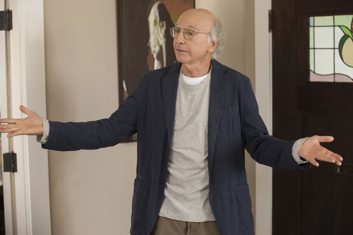"Larry David in the most recent season of ""Curb Your Enthusiasm."""