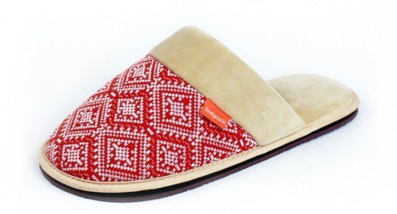 """There's nothing quite like a <a href=""""http://www.feelgoodz.com/"""" target=""""_blank"""">comfy pair of slippers</a> to make you look"""
