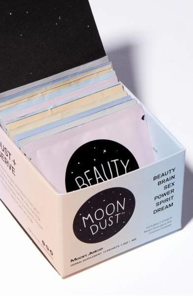 """This collection of <a href=""""https://shop.nordstrom.com/s/moon-juice-full-moon-dust-sachet-box/4787684?origin=coordinating-478"""